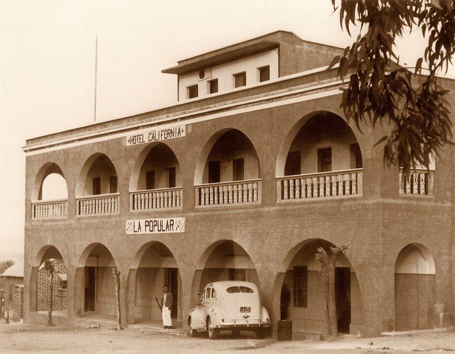Leyenda del Hotel California Todos Santos
